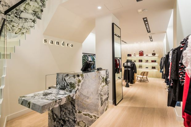 Inside Sandro's new Munich store