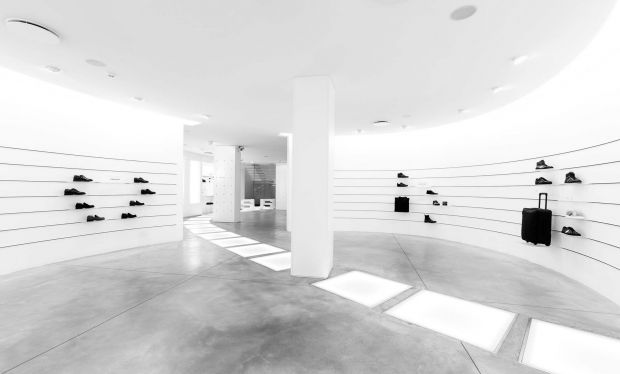 Footwear area at Susi Store