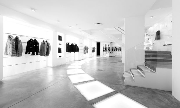 The minimalist interior of Susi Store