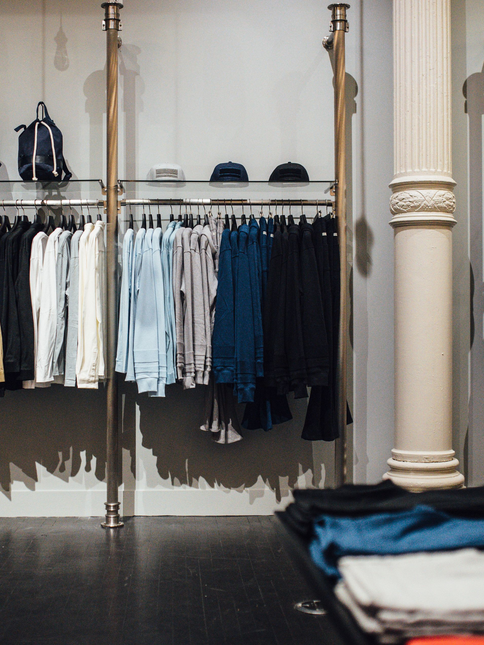 Inside the New York pop-up store