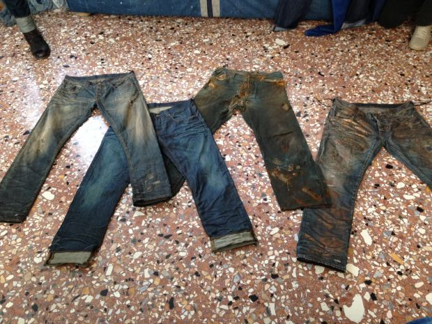 Jeans treated by Wash Italia
