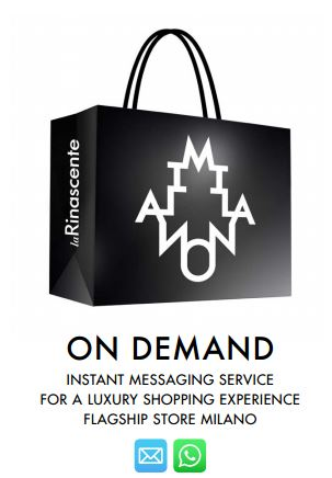 La Rinascente offers an On Demand service for a tailor-made digital shopping experience.