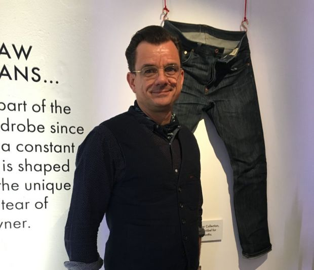 Denim expert Tilmann Wröbel, designer of The Cooper Collection.