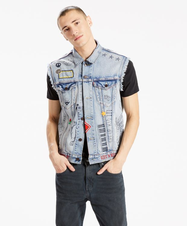 Denim vest from the Levi's 501 Day celebration collection
