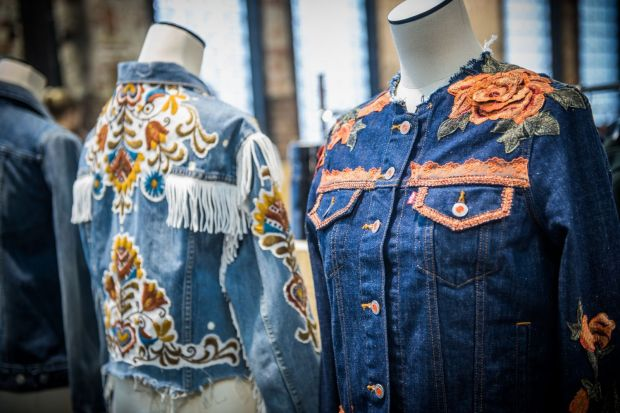 Levi's customized trucker jackets
