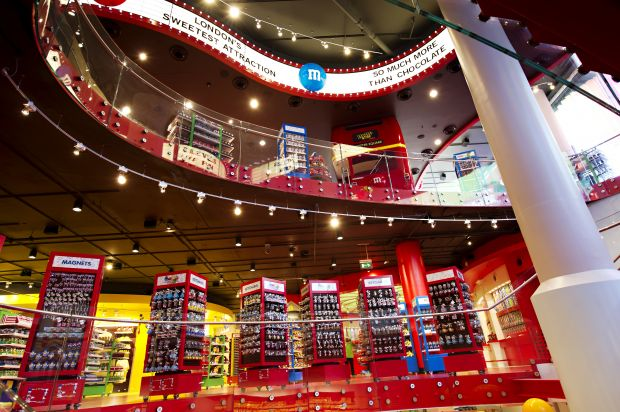M&Ms store in London