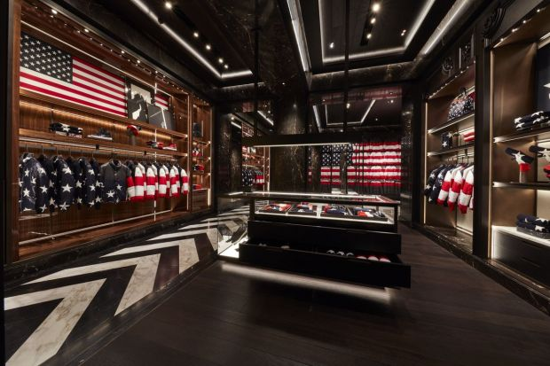 Moncler flagship store in New York.