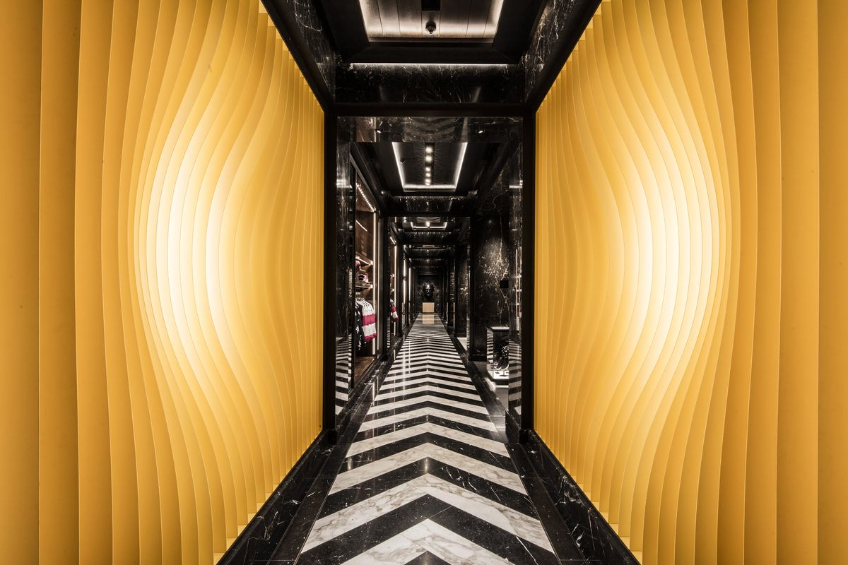 Moncler NYC flagship store.