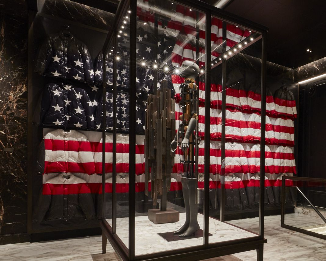 'USA Flag' installation by Thom Browne.