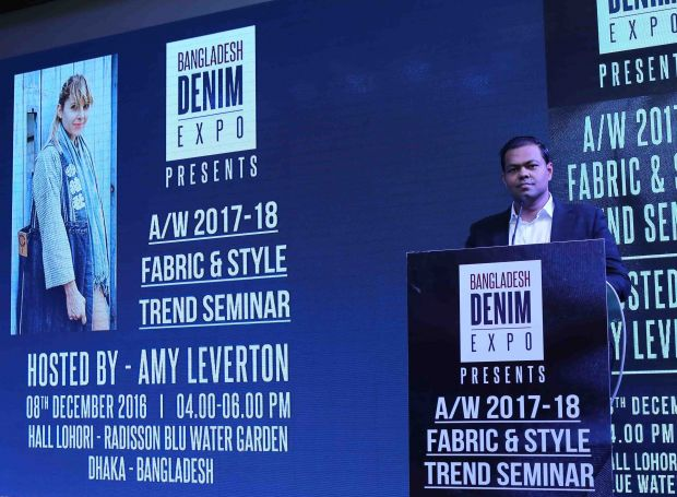 Mostafiz Uddin, founder and CEO of the Bangladesh Denim Expo.