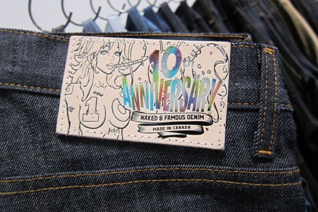 Naked and Famous Jeans at Capsule New York