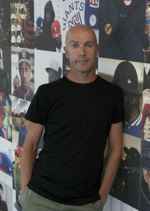 Laurence Joslin, European brand manager of New Era