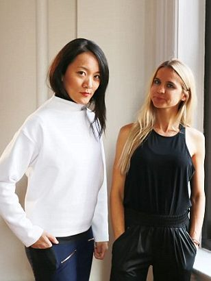 Co-founders Meg He (left) and Nina Faulhaber