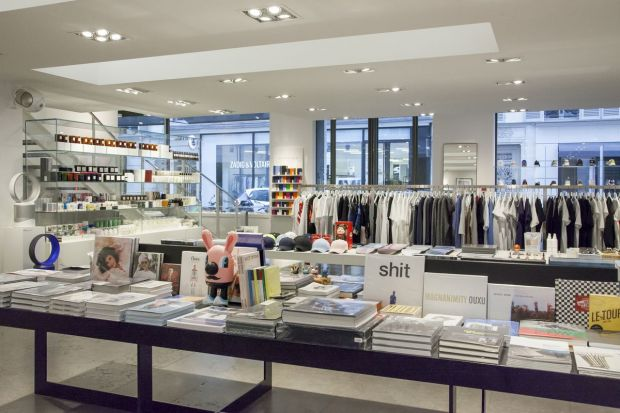 Not only fashion: product and gadget assortment at Colette