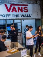 One of the Bright classics: Vans booth