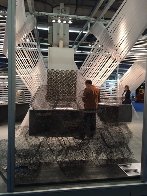 'Textile Structures for New Building' exhibtion at Techtextil