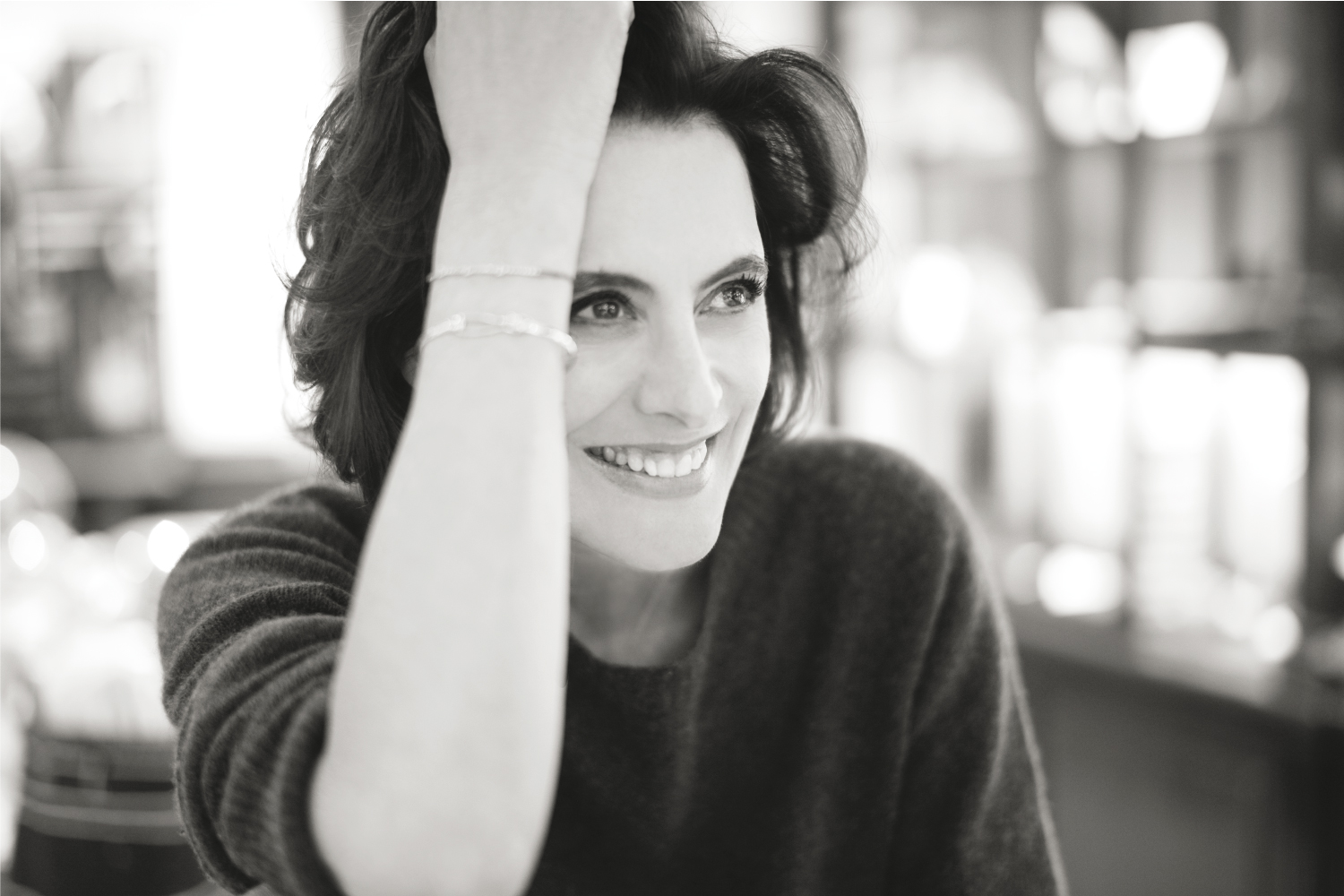 Designer and fashion consultant Inès de la Fressange.
