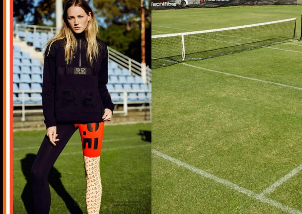 Australian brand P.E Nation was awarded for its zeitgeisty sportswear collections.