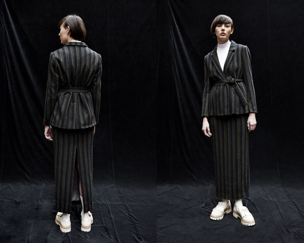 Designer Linda Calugi won the category Womenswear with her label Twins Florence.
