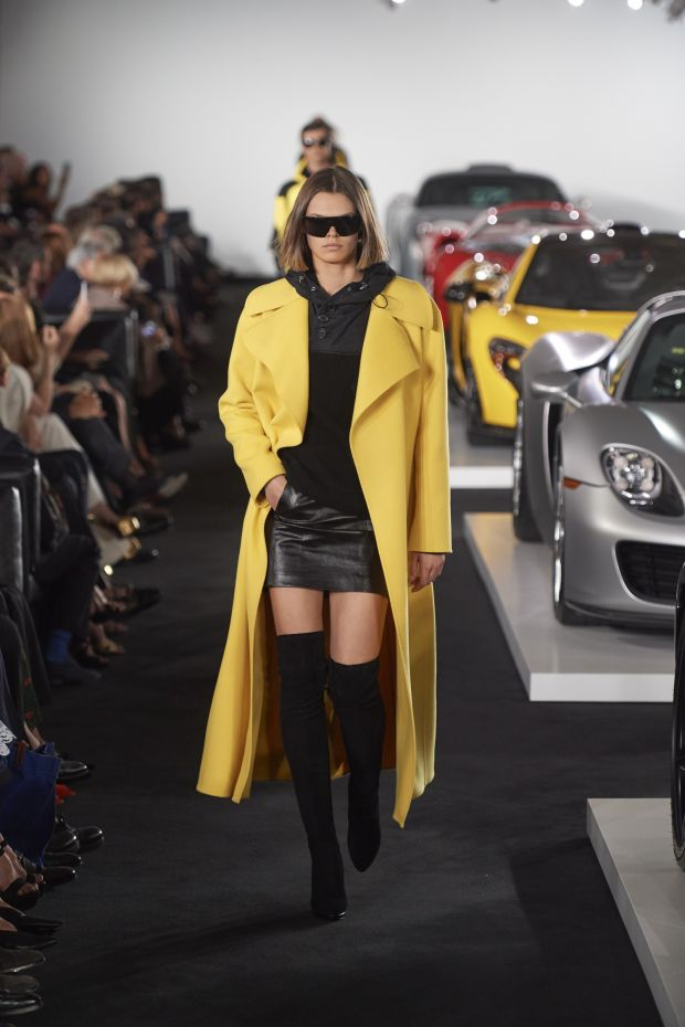 Clothes met cars at Ralph Lauren's recent see-now-buy-now FW17 show