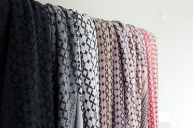 Filippa & Florentine is the name of Sylva Kairies scarf label and also the name of her daughters.