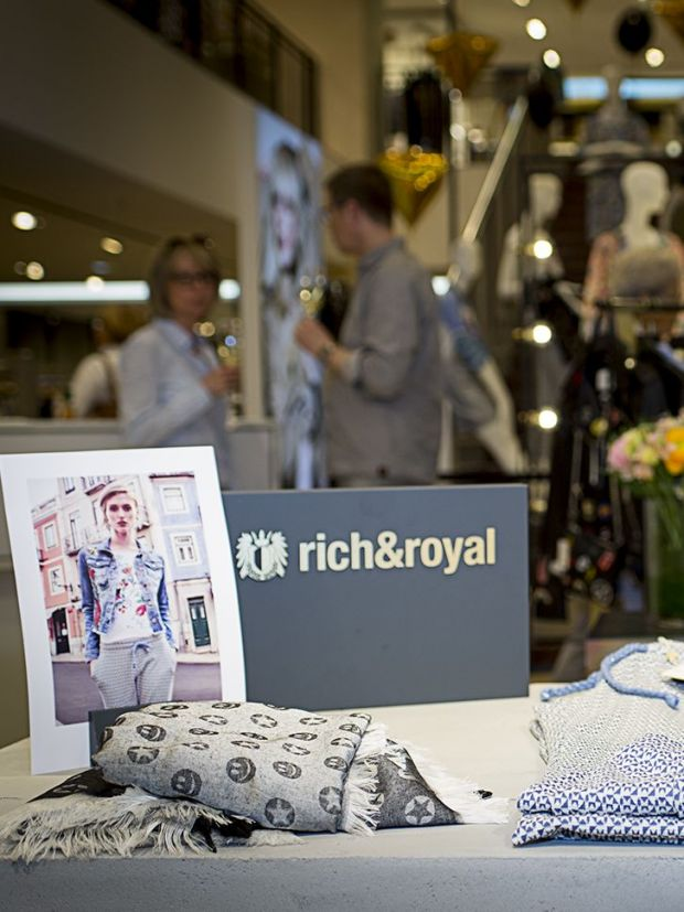 Rich & Royal Pop-up space at Breuninger