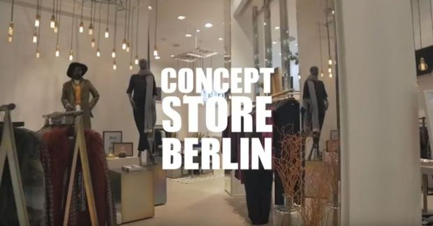 Rich & Royal concept pop-up store at Mall of Berlin Germany.
