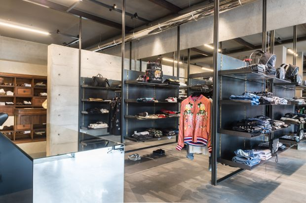 new Julian Fashion menswear store
