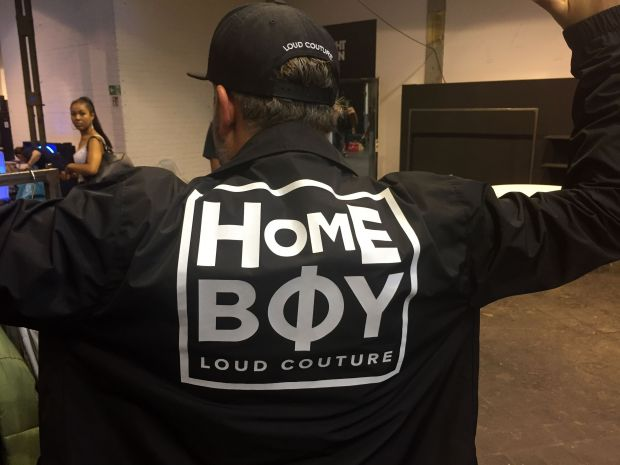 Sales director Alexander Haß in Homeboy