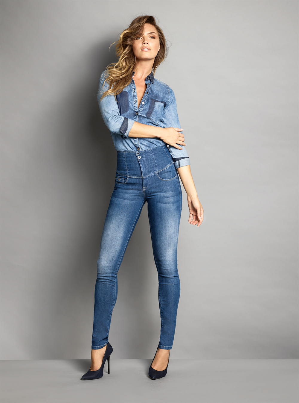 Push-In jeans by Salsa Jeans.