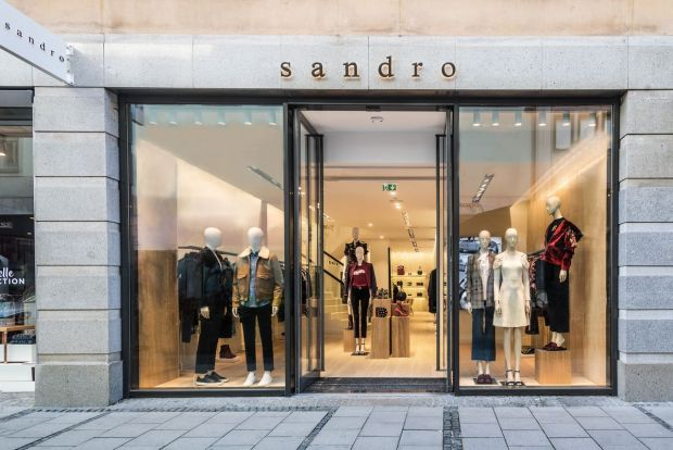 Sandro's new Munich store in Theatinerstraße