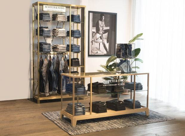 The new shop-in-shop concept for Amsterdams Blauw