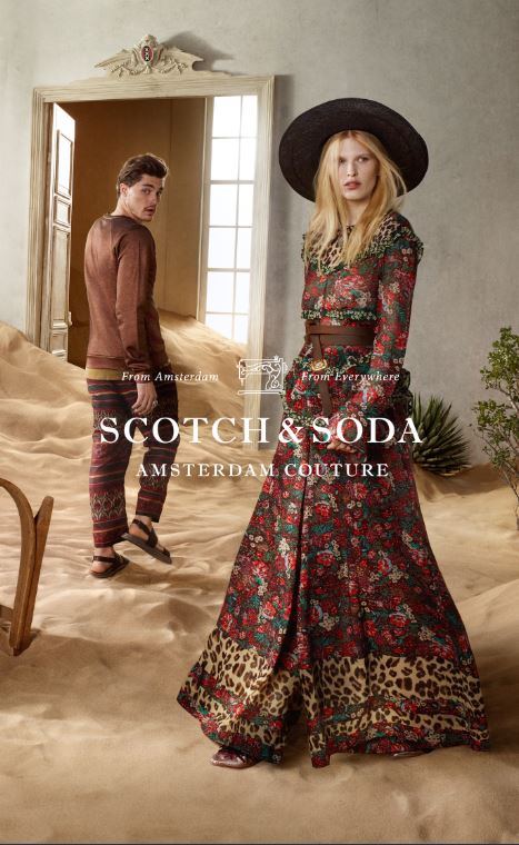 Scotch & Soda premiers at Premium