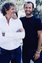 Stefano Rosso (right) and Renzo Rosso