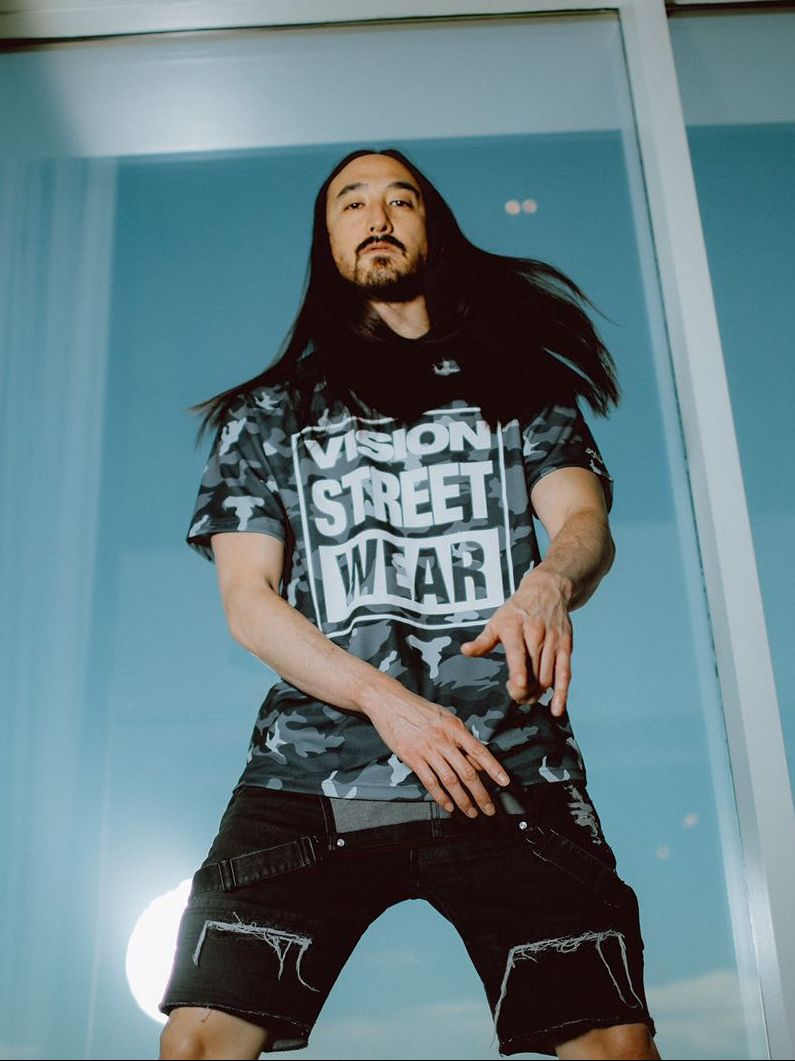 Collaboration Mega Dj Steve Aoki S New Vision For Vision