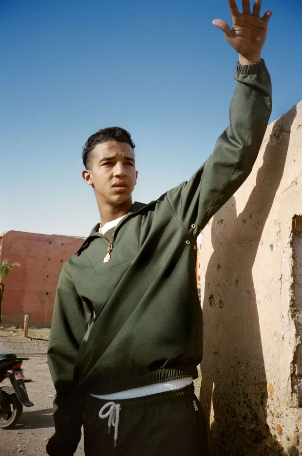 The Mains lookbook was shot in Morocco.