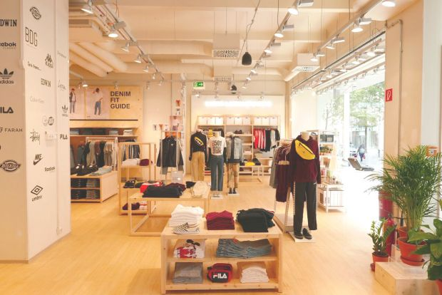 The new Urban Outfitters outpost at Mariahilferstraße 38, Vienna