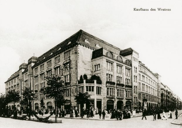 The KaDeWe back in 1907, the year of its founding.