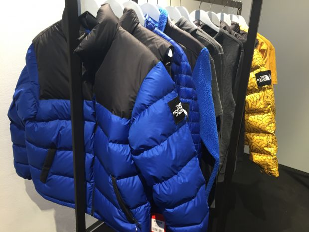 The North Face Red at Rich & Hanc