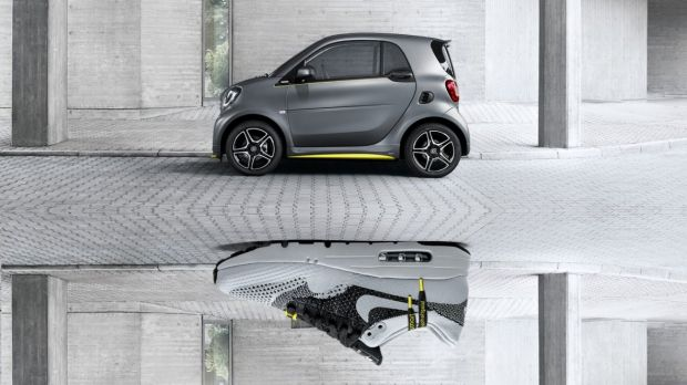 The Smart x Asphaltgold collaboration targeting the urban lifestyle.