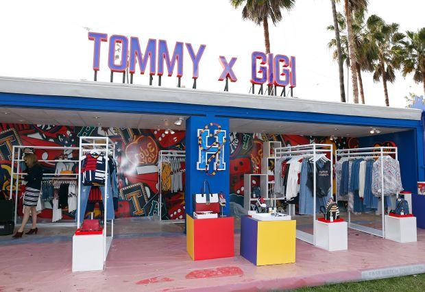 Tommy x Gigi shop on site