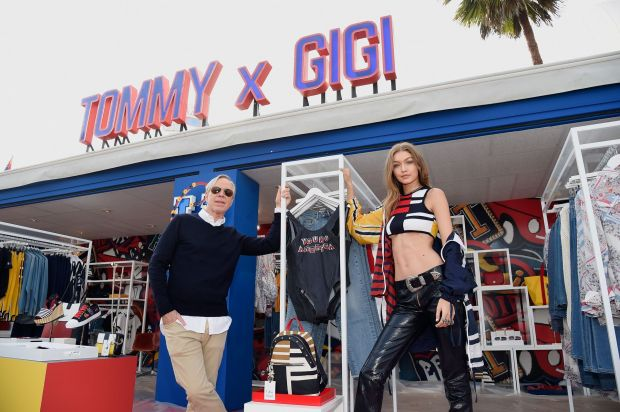 Tommy Hilfiger and Gigi Hadid