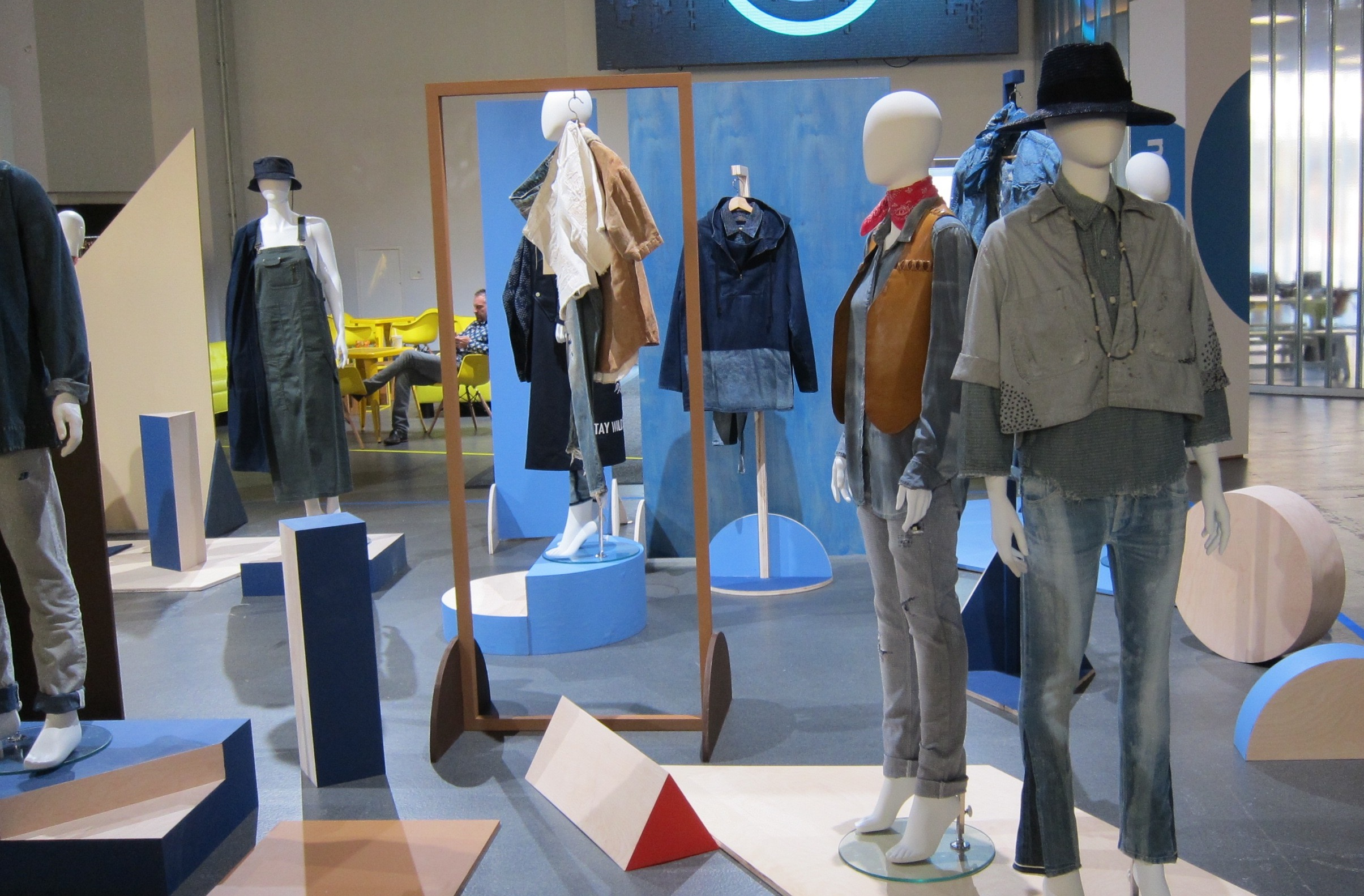 Trend display at Kingpins NY