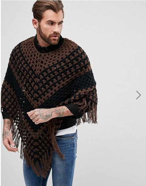 Poncho from Asos