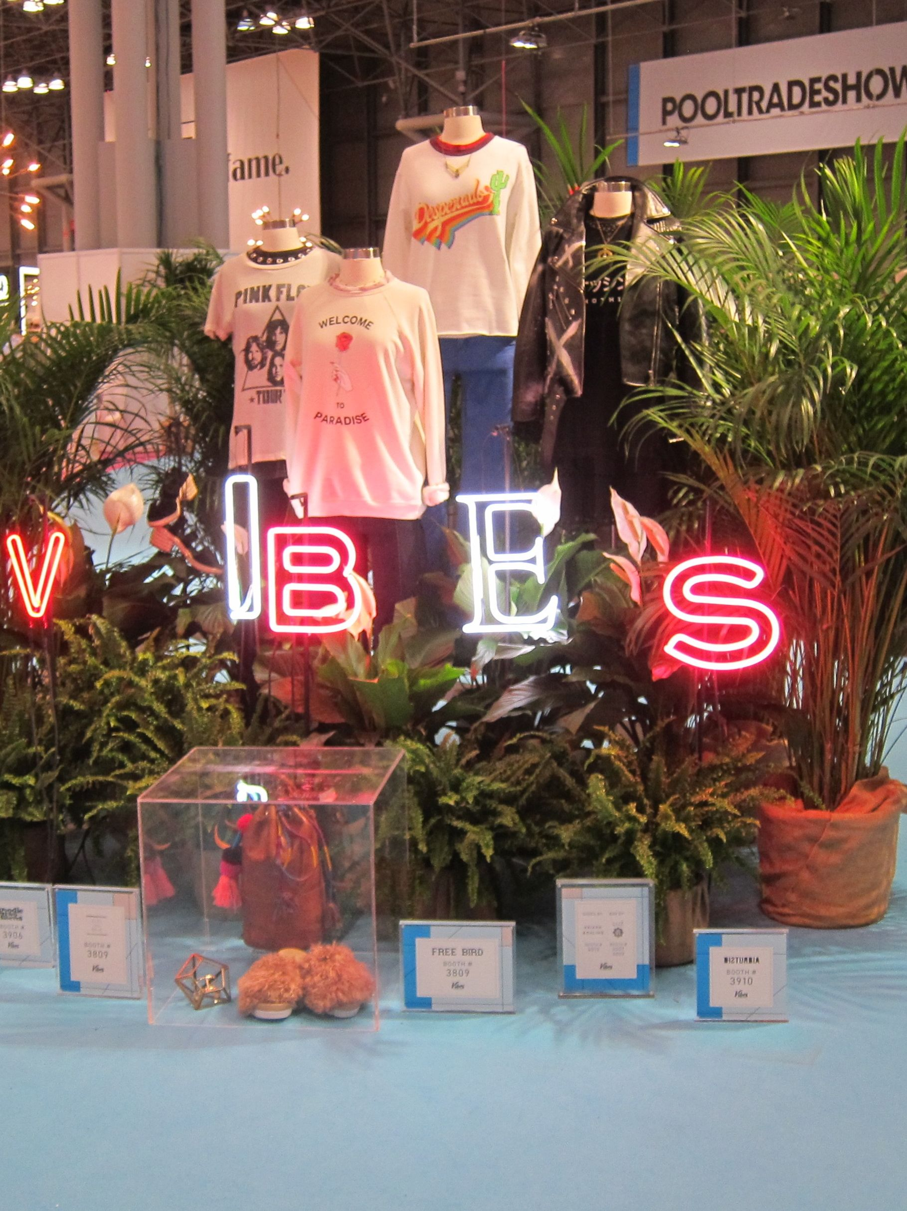 Vibes display