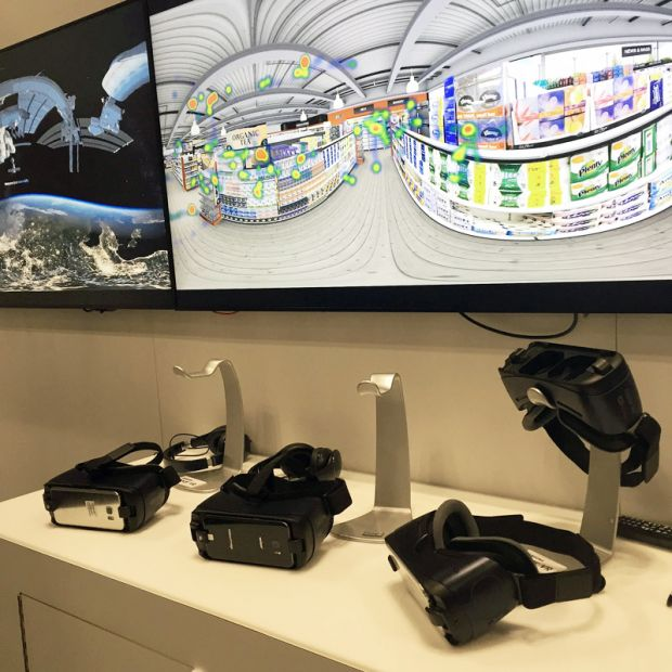 Samsung virtual reality for market research