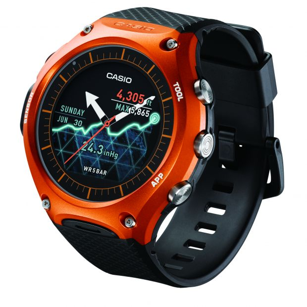 WSD by Casio Smart Outdoor Watch
