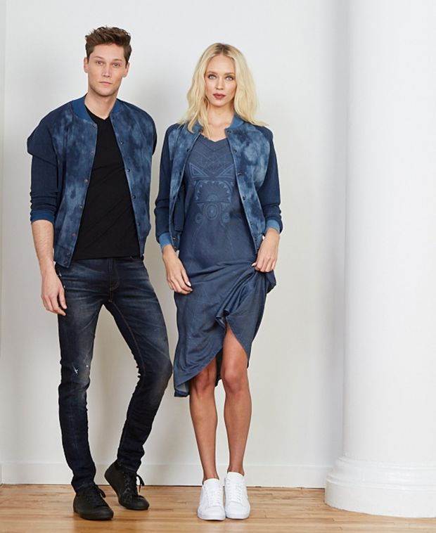 Sustainable Denim Wardrobe