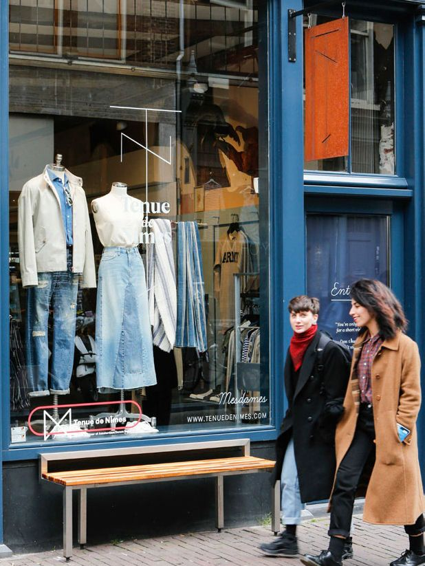 Denim store presents tailored product launches, presentations, exhibitions ...