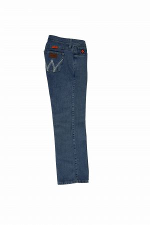 First flame resistant cooling jeans